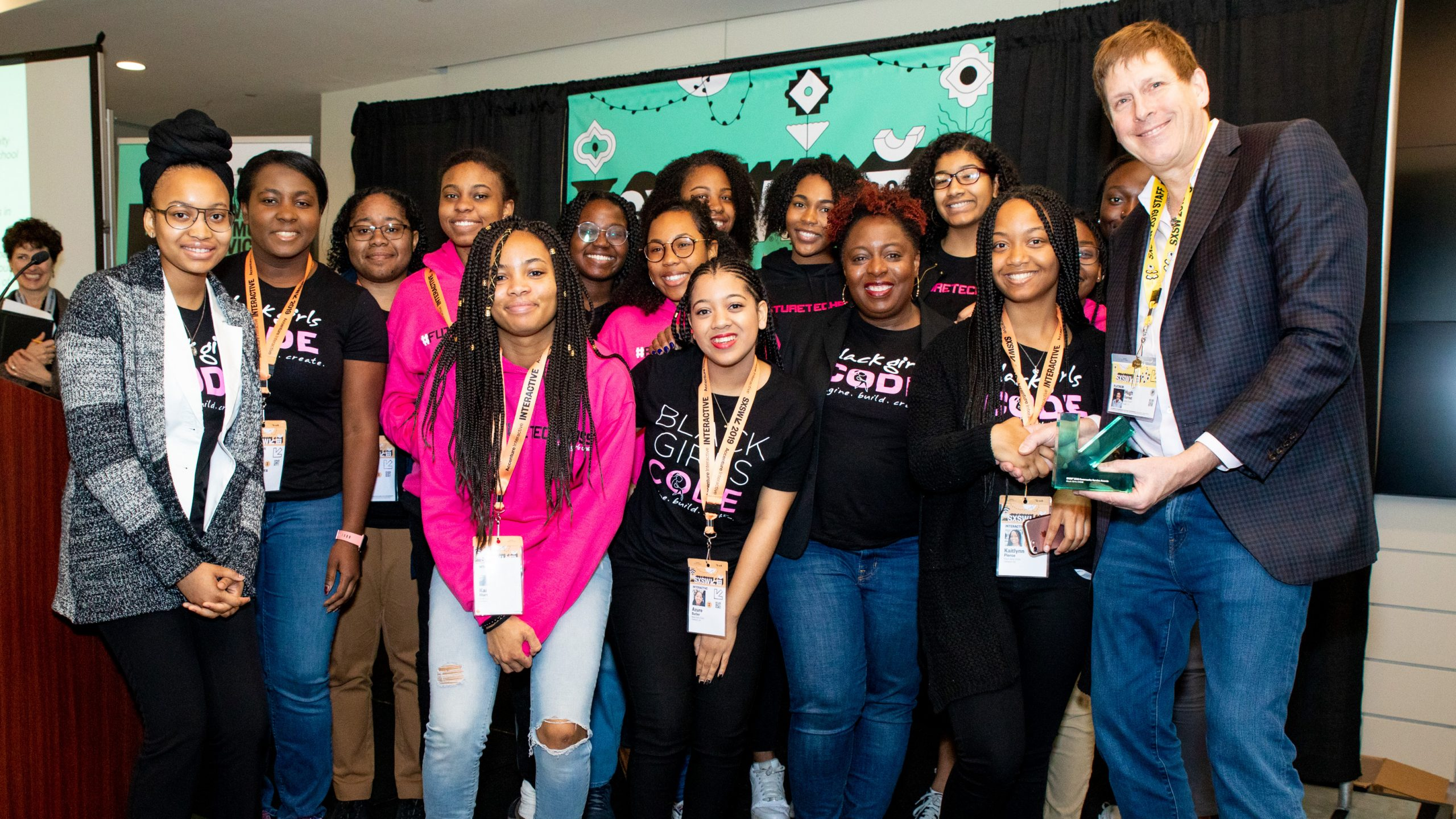 Behind the Click: Securing the Future for Black Women and Girls in Tech | SXSW 2019 Image